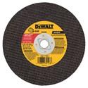 "Picture of DW3508 DeWalt Bonded Abrasive,6-1/2""X1/8"" METAL ABRASIVE SAW BLD(BLK)"