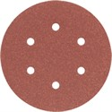 "Picture of DW4331 DeWalt Sandpaper,6"" 6 Hole 80 GRT H&L Random Orbit Sandpaper"