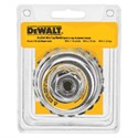 "Picture of DW4916 DeWalt Wire wheel,4"" Knotted Cup Brush/Carbon Steel 5/8""-11 Arbor .023"""
