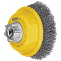 "Picture of DW4920 DeWalt Wire wheel,3""x5/8""-11 Crimped Cup Brush/Carbon Steel .020"""