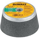"Picture of DW4961 DeWalt Grinding Wheel,4""x2""x5/8""-11 Concr/Msn Gr""d Stl Bked Cup Whl"