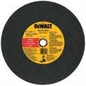 "Picture of DW8002 DeWalt Chop Saw Blade,14""x3/32""x7/64""x1"" Bar Cut Chop Saw Whl"