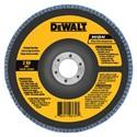"""Picture of DW8324 DeWalt Flap Disc,7""""x7/8"""" 80 GRT Zirconia T29 Flap Disc"""