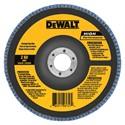 """Picture of DW8365 DeWalt Flap Disc,5""""x5/8""""-11 24 GRT Zirconia T27 Flap Disc"""