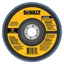 "Picture of DW8374 DeWalt Flap Disc,7""x7/8"" 120 GRT Zirconia T27 Flap Disc"