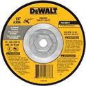 """Picture of DW8475H DeWalt Bonded Abrasive,6""""x1/4""""x5/8""""-11 T27 aluminum wheel"""