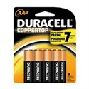 Picture of MN15B8PTPZ99 Duracell Coppertop Saver Batteries,AA,8 Pack