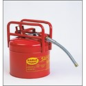 Picture of 1215 Eagle D.O.T. APPROVED TRANSPORT CANS,Red Galvanized Steel Type II