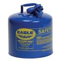 Picture of UI-50-SB Eagle Cans,Metal,Blue (Kerosene),5 Gal
