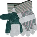 Picture of 1230DP MCR Gloves,Shoulder Leather Double Palm,Green/Pink