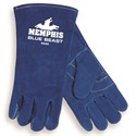 "Picture of 4600XXL MCR ""Blue Beast"" Deluxe Welders Gloves,XXL"