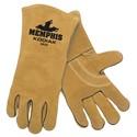 """Picture of 4620 MCR """"Kodiak"""" Deluxe Brown Welders Gloves,"""