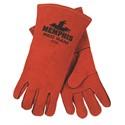 "Picture of 4720 MCR ""Red Ram"" Side Leather Split Cowhide Welders Gloves,Russet"