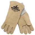 """Picture of 4740 MCR """"Bobcat"""" Deluxe Brown,Straight Thumb Welders Gloves,"""