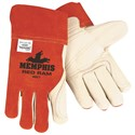 Picture of 4921 MCR MIG/TIG Welder's Gloves,Grain Leather Palm,Split Leather Back/,L