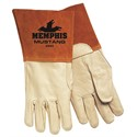 "Picture of 4940XL MCR ""Mustang"" MIG/TIG Welder's Gloves,5"" Bell,Thumb Strap,Sewn KEVLAR,XL"