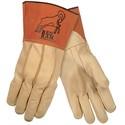 Picture of 49610L MCR Welder's Gloves,Grain Pigskin MIG/TIG,Select Grade,Clute Pattern,Sewn KEVLAR,L