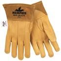 "Picture of 4982L MCR ""Big Buck"" Welder's Gloves,Sewn KEVLAR,2.5"" Split Leather"