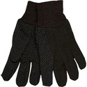 Picture of 7802 MCR Brown Fleece Plastic Dotted Palm Clute Wrist Ladies