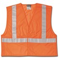 "Picture of CL2MOX2 MCR Class 2,Tear-Away,Polyester Mesh Safety Vest,2"" Silver Stripe,Orange"