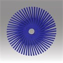 "Picture of 48011-30129 3M-Brite Radial Bristle Disc Thin Bristle,3""x 3/8""400"