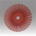 "Picture of 48011-30128 3M-Brite Radial Bristle Disc Thin Bristle,3""x 3/8""220"