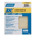 "Picture of 076607-02633 Norton 3X HIGH PERFORMANCE SHEETS,9""x11"",Extra Fine,320 Grit"