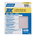 """Picture of 076607-02639 Norton 3X HIGH PERFORMANCE SHEETS,9""""x11"""",M,120 Grit"""