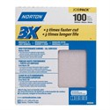 Picture of 076607-02640 Norton Sandpaper,3X High performance sand paper sheets Job Pack, 100 Grit