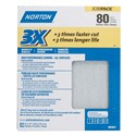 """Picture of 076607-02641 Norton 3X HIGH PERFORMANCE SHEETS,9""""x11"""",Coarse,80 Grit"""