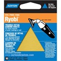 Picture of 076607-49283 Norton DETAIL PROFILE For Ryobi,Triangle Sheets,Adhesive Back,M,100 Grit