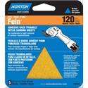 Picture of 076607-82146 Norton DETAIL/PROFILE,Fein Sander,Triangle Sheets,Adhesive Back,180 Grit,Fine