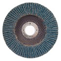 "Picture of 088341-90172 Norton FLAP DISCS Powerflex,4-1/2""x7/8,PWRFLX T27 FBR 040ZRB,40-X HD Grit"