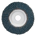 "Picture of 088341-93649 Norton FLAP DISCS Powerflex,5""x7/8,PWRFLX T29 FBR 036ZRB,36 Grit"