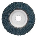 "Picture of 088341-93650 Norton FLAP DISCS Powerflex,5""x7/8,PWRFLX T29 FBR 040ZRB,40 Grit"