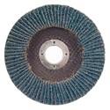 """Picture of 088341-94360 Norton FLAP DISCS Powerflex,4-1/2""""x7/8,PWRFLX T27 FBR 080ZRB,80-X HD Grit"""
