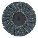 Picture of 088341-94552 Norton Merit Mini Flap Disc,Type 27,Type 3,60 Grit,Zirconia Alumina