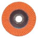 Picture of 662611-00009 Norton SG Blaze Flap Discs,5x7/8,Type/27,Max RPM/12000,36 Grit