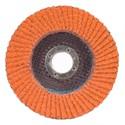 Picture of 662611-00011 Norton SG Blaze Flap Discs,5x7/8,Type/27,Max RPM/12000,60 Grit