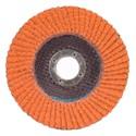 Picture of 662611-00012 Norton SG Blaze Flap Discs,5x7/8,Type/27,Max RPM/12000,80 Grit