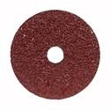 "Picture of 666233-53309 Norton Merit Resin Fiber Disc,Alum Oxide,FX370,24 Grit,4-1/2""x7/8"""