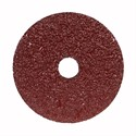 "Picture of 666233-53312 Norton Merit Resin Fiber Disc,Material/Alum Oxide,FX370,80 Grit,4-1/2""x7/8"""