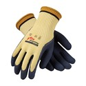 Picture of 09-K1444/L PIP Powergrab Kev,Kevlar With Blue Latex Microfinish Grip,Cut Level 4,L