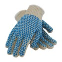 Picture of 37-C110BB/L PIP PVC Coated Seamless Knit,Blue Brick Pattern On Two Sides,7 Gauge,L