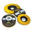 "Picture of 71-10828FF Arc Abrasives Predator Flap Discs,Type 27,4.5""x 7/8"",Grit 50,13,300 RPM"