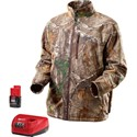 Picture of 2343-XL Milwaukee M12 Cordless Realtree XTRA Heated Jacket Kit,M,Camo