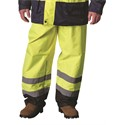 "Picture of 318-1757-YEL-L PIP Class E Two-Tone Polyester Pants,Poly Coated,2"" Silver Tape,2-XL"