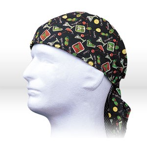 Picture of 23-8013 Alliance Doo Rags,Happy Hour Assortment,One Size Fits All