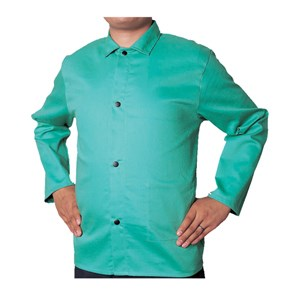 "Picture of 33-6630XL Alliance COOL FR Cotton Jacket,Green,XL,30"" sleeves"