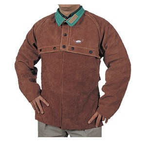 Picture of 44-7800XXL Alliance Premium Leather Cape Sleeves,2XL Lava Brown